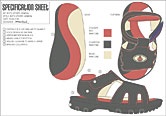 shoe design tech spec
