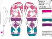 Image of a footwear print design example